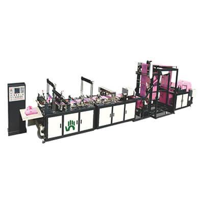 Fully-Automatic-Non-Woven-Tri-Dimensional-Box-Bag-Making-Machine