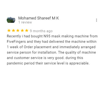 Five Fingers Exports- Coimbatore-review