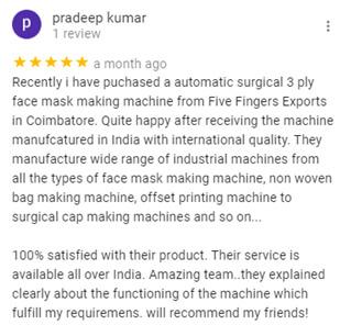 face-masks-machine-manufacturer-review
