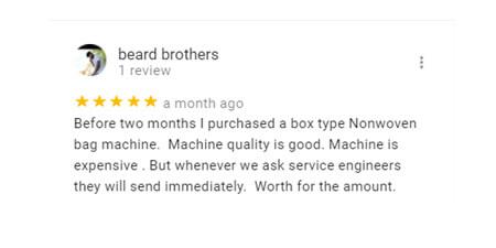 non-woven-machine-manufacturer-reviews