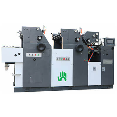 3 colour offset printing machine manufacturer in India