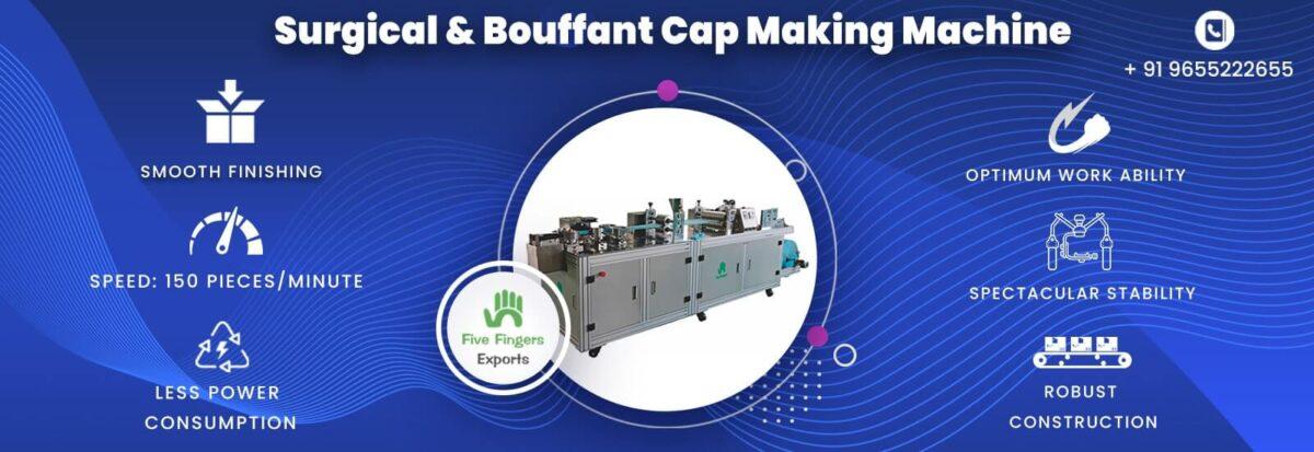 disposable head cap making machine at best price