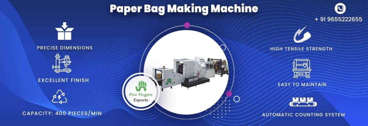 automatic paper bag making machine manufacturers in India
