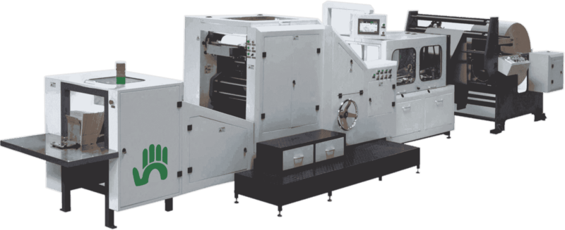 paper bag making machine supplier at low price in india