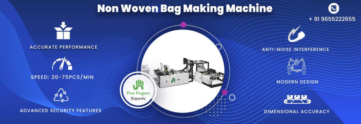 non woven bag making machine manufacturer in India