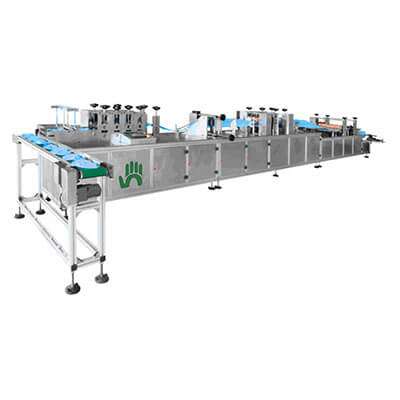 low price surgical doctor cap making machine